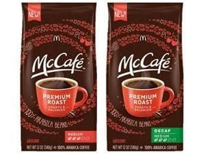 McDonald's McCafe Coffee Coupon