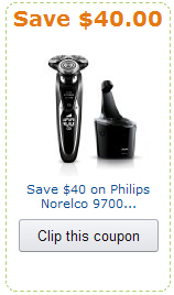 phillips norelco 9700 shaver coupon