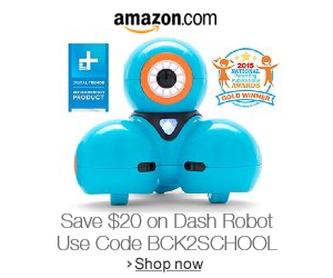 Dash Robot Coupon