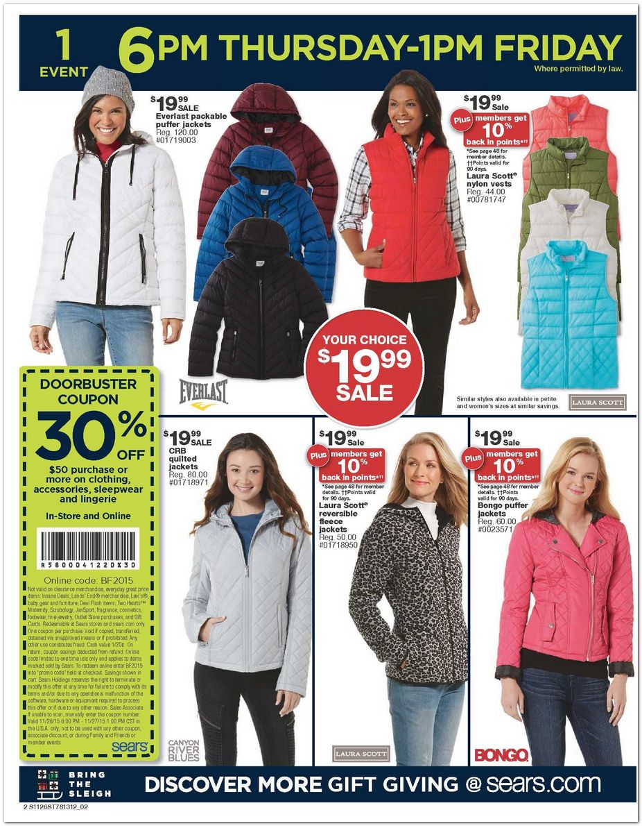 Coupon codes for sears canada