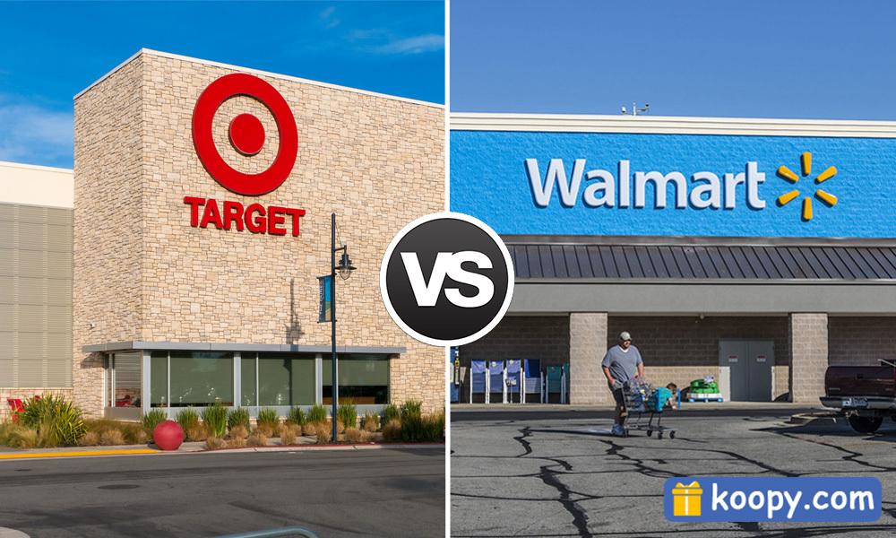 Target vs. Walmart price comparison